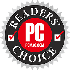PC MagazineのPCMag Readers' Choiceのロゴ