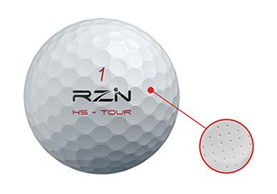 RZN HS-TOURのマイクロディンプル