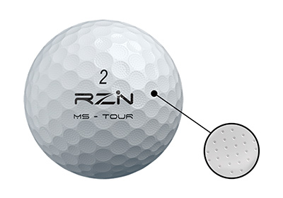 RZN MS-TOURのマイクロディンプル