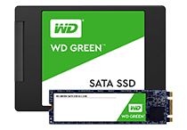 WD Green PC SSDの製品写真