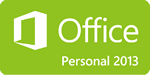 Office 2013 Personalロゴ