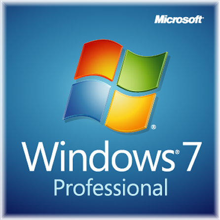 Windows 7 Professional ロゴ
