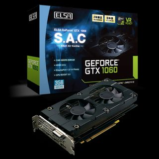ELSA GeForce GTX 1060 3GB S.A.C