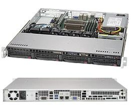 SuperServer 5019S-M (Black)