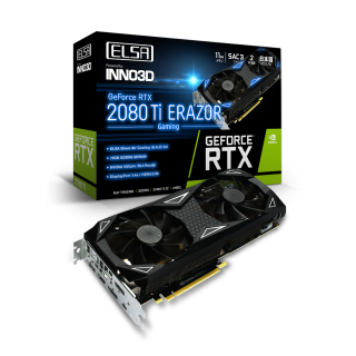 ELSA GeForce RTX™ 2080 Ti ERAZOR GAMING