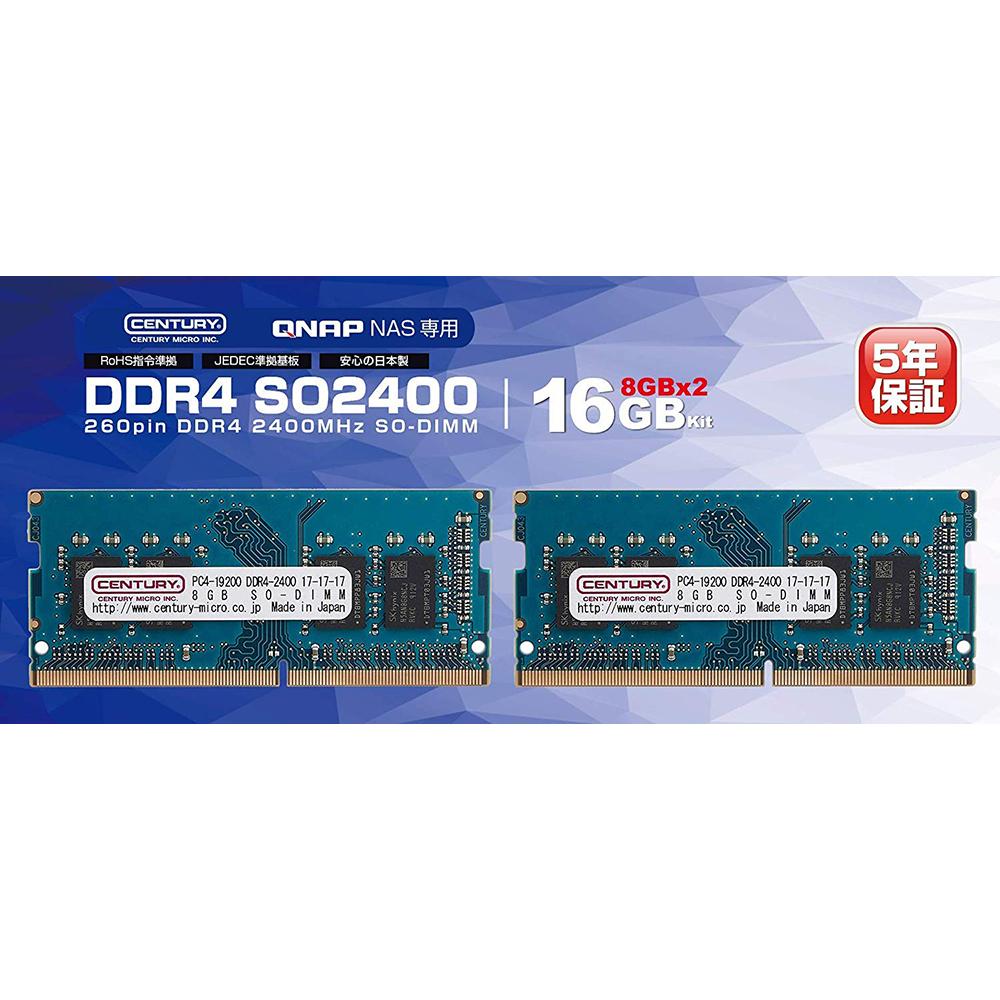 QNAP RAM-4GDR4A0-SO-2400 Qnap
