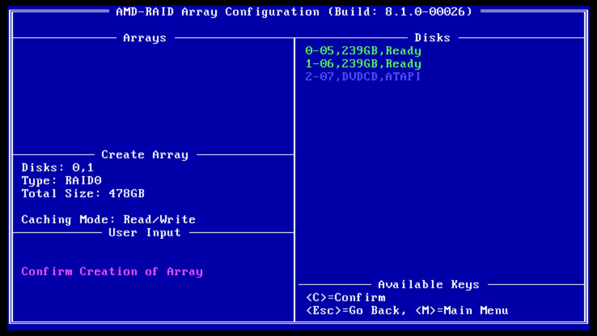 X370/B350/A320(Ryzen)]RAIDモードでのWindows10インストール