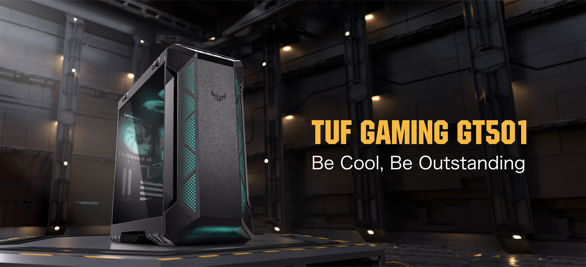 TUF Gaming GT501 Be Cool, Be Outstanding